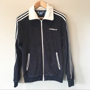 Adidas Osaka Velour Track Jacket